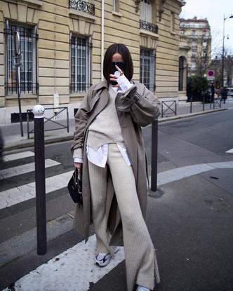 Фото №7 - С чем носить базовый джемпер: примеры стильных образов