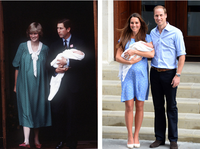 Фото №2 - Как фотосъемка новорожденных наследников короны стала традицией