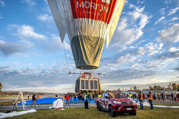 Фото №1 - Вокруг света за 11 дней: Федор Конюхов совершил кругосветное путешествие на воздушном шаре