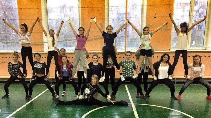 Юлия Рывкина с ученицами
