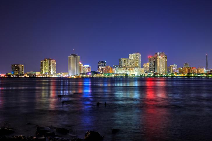 Фото №1 - В NASA подсчитали, с какой скоростью тонет Новый Орлеан