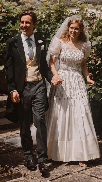 Foto #2 - De la Elisabeta a II-a la printesa Beatrice: in ce pantofi s-au casatorit printesele