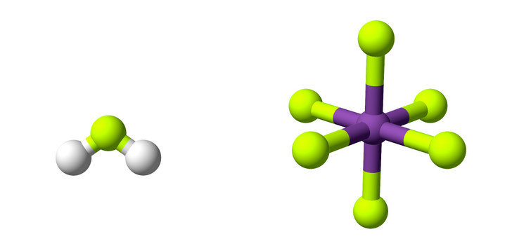 DFliyerz (CC BY-SA 4.0) / wikipedia.orgМодель фторсурьмяной кислоты
