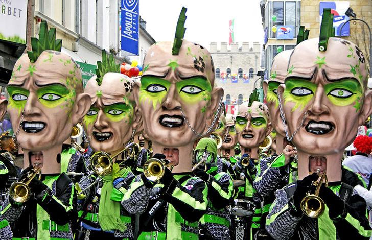 Фото №1 - Три самых ярких карнавала накануне Великого поста