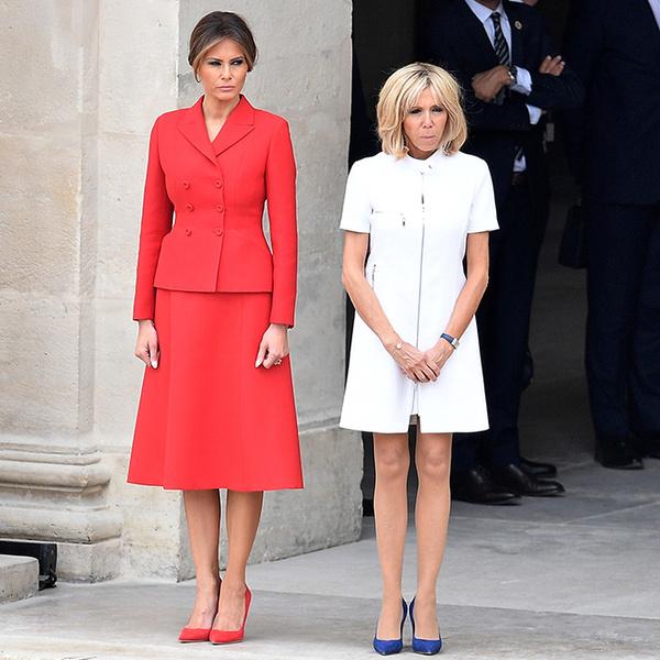Фото №2 - Как Брижит Макрон сняла табу на мини-юбки и стала новой иконой стиля Франции