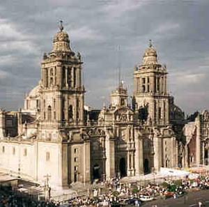 Фото №1 - Собор в Мехико спасли обереги