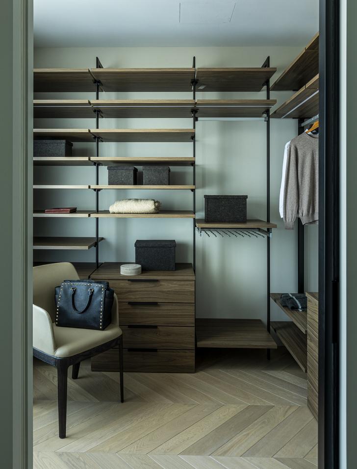 Фото №17 - Европейский интерьер московской квартиры 90 м² для иностранца