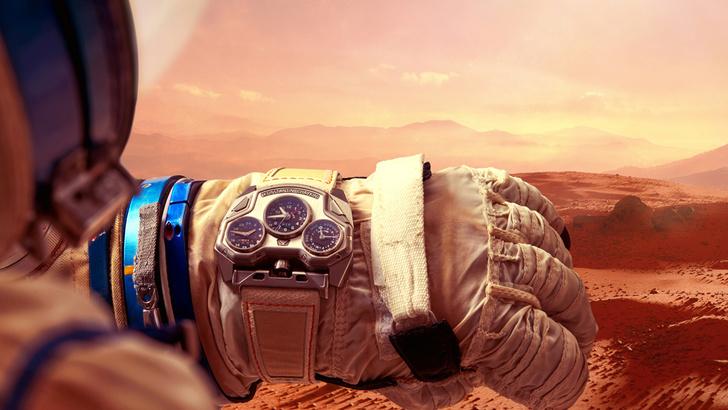 Фото №1 - Часы марсианского тракториста: система и механизмы измерения времени в космосе