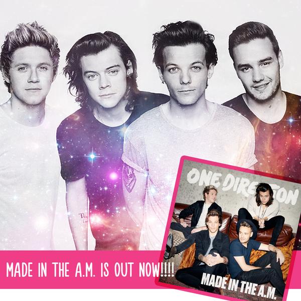 Фото №1 - УРА! Сегодня официальный релиз нового альбома 1D