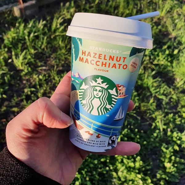 Фото №1 - Этот напиток от STARBUCKS®— идеальный выбор для жаркого лета 🌞