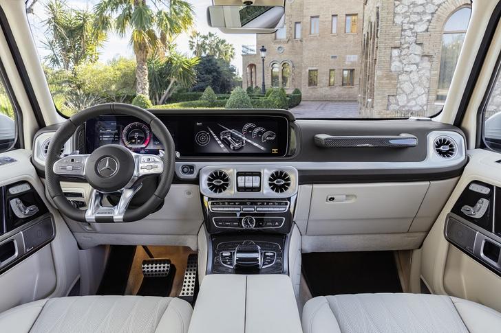 Фото №4 - Новый Mercedes-AMG G 63 умеет забираться на скалы