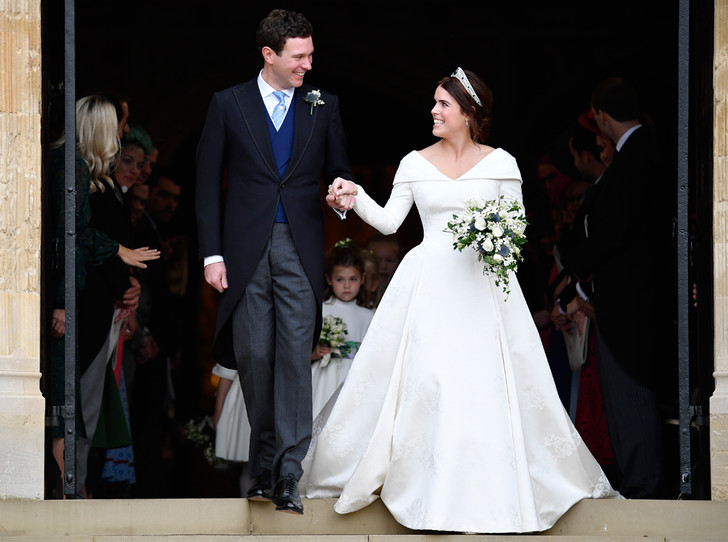 Фото №2 - Настоящая принцесса: свадебный образ Евгении Йоркской
