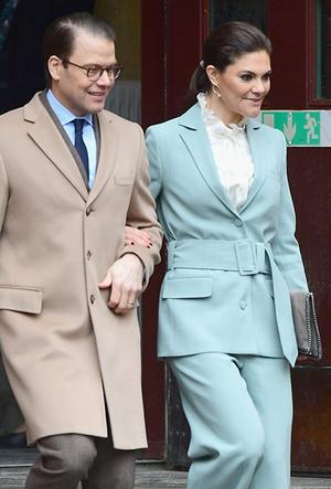 Фото №9 - Кейт Миддлтон и принц Уильям в Швеции: день второй
