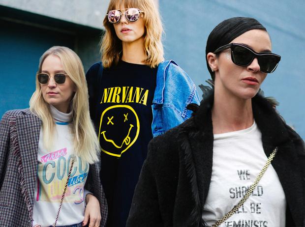Фото №1 - От принта: какую футболку надеть, чтобы быть в тренде