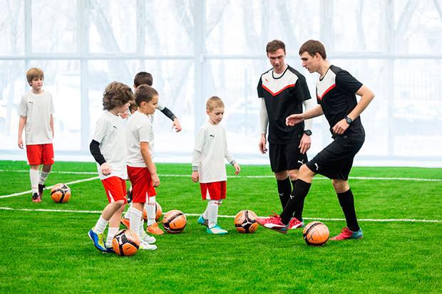 Фото №1 - Юных футболистов будут тренировать голландские специалисты