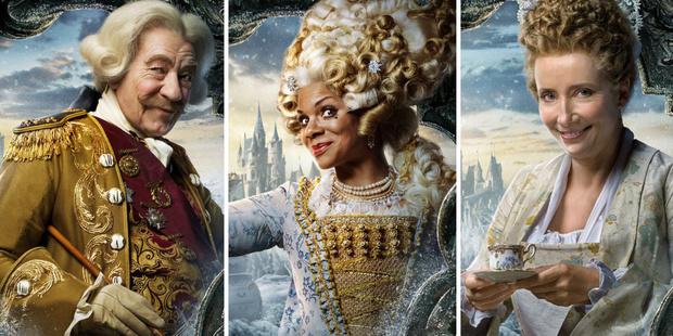 Фото №4 - Эмма Уотсон и Дэн Стивенс на промо-постерах «Красавицы и Чудовища»