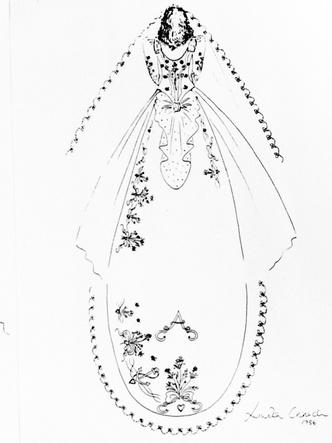 Фото №6 - От Елизаветы до Летиции: секретные детали свадебных платьев принцесс и герцогинь