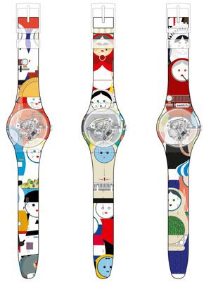 Фото №2 - Как создать часы Swatch с собственным паттерном