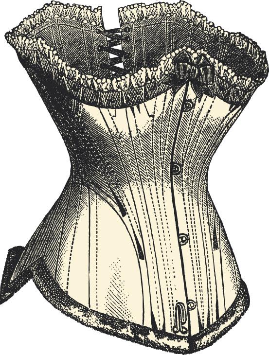 shutterstockЖенщины во все времена хотели иметь совершенные формы, а потому добровольно становились жертвами моды, заковывая себя в «панцирь». Подобие корсета можно видеть уже на античных красотках. Настоящая же эпоха корсета началась в XIV веке. Для придания желанных форм в каркас вшивали деревянные, костяные и металлические палочки или пластинки. Первые корсеты девушки надевали в 16 лет. И с этого момента их тело не знало покоя ни днем, ни ночью, так как существовали еще и специальные ночные корсеты. В XVI веке ношение корсета стало общепринятой нормой. А для пущего эффекта, перед тем как утянуться, дамы выпивали стакан уксуса, который, вызывая спазм желудка, позволял облегчить этот процесс. Так, при дворе Екатерины Медичи объем талии соответствовал положению дамы при дворе: чем тоньше талия, тем выше статус. И для его сохранения они были вынуждены заковывать себя в металлические каркасы, состоящие из четырех пластин с жесткой застежкой сзади. Но к середине XVII века под влиянием французских модельеров корсет стали изготавливать из тканей, украшая кружевами и вышивками.