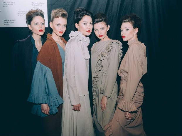 Фото №13 - Третий день Mercedes-Benz Fashion Week Russia 2017