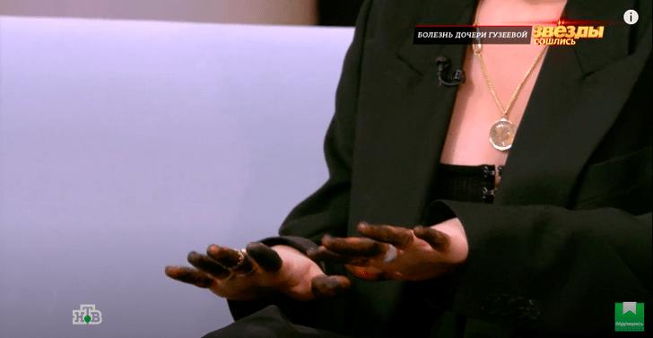 Дочь Ларисы Гузеевой пришла на шоу с монобровью и грязными руками: фото