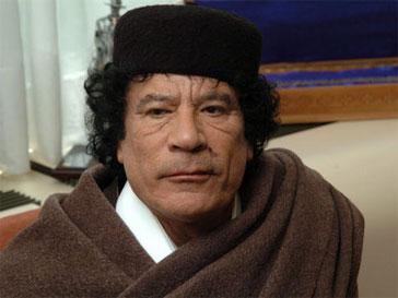 Муамар Каддафи, Ливия, политика, НАТО