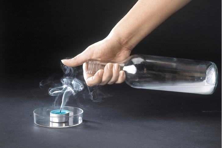 Фото №1 - Опыт: невидимая рука газа