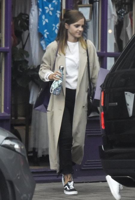 Эмма Уотсон в Лондоне