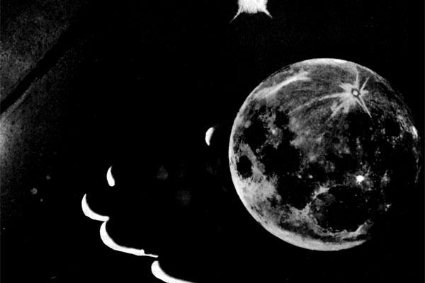 Фото №1 - Рука, коснувшаяся Луны
