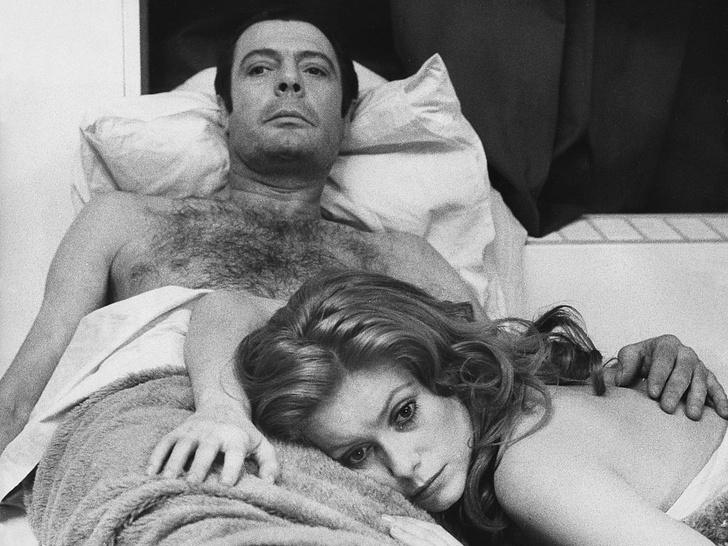 Фото №6 - Лед и пламень: обреченная любовь Катрин Денев и Марчелло Мастроянни — самой красивой пары европейского кино