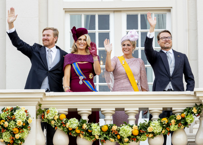 Фото №4 - Король Виллем-Александр выступил в Парламенте в День принца
