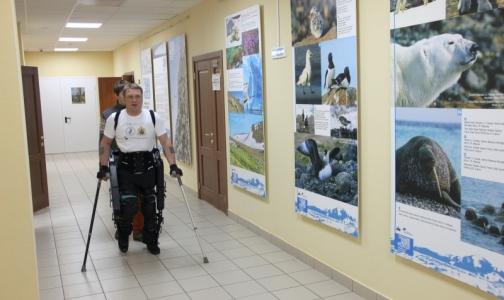Фото №1 - Россиянин впервые отправится работать в офис в экзоскелете