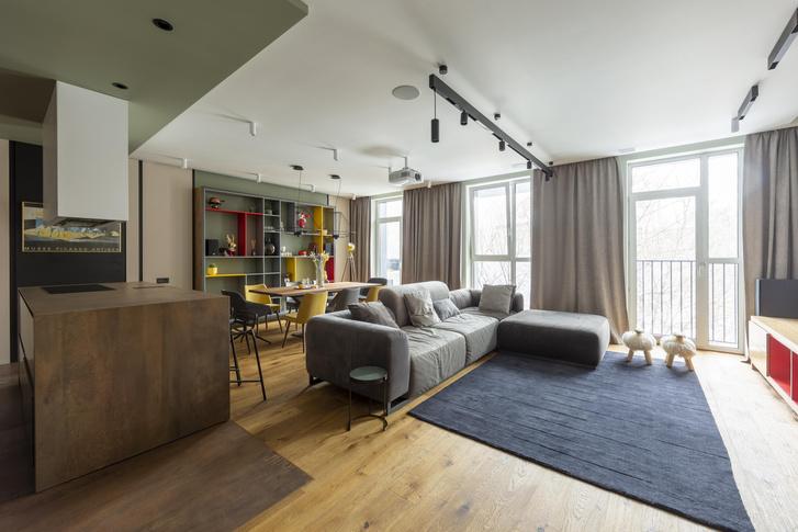 Фото №1 - Квартира 122 м² в Москве для семьи с двумя детьми и двумя собаками