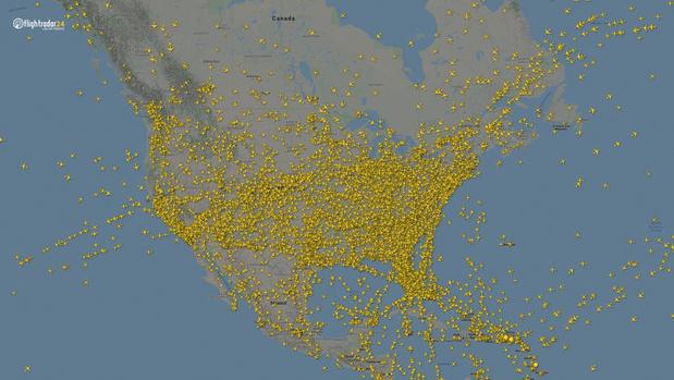 Фото №10 - Как изменился авиатрафик в разных регионах мира во время пандемии