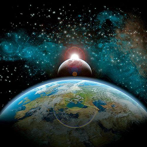 Фото №1 - Почему сила притяжения не сталкивает планеты друг с другом?