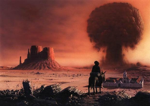 Фото №1 - 10 книг о конце света: пост-, пред- и просто апокалипсис