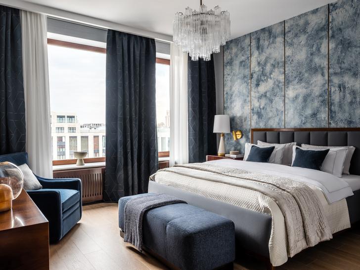 Фото №10 - Двухэтажная квартира с дровяным камином в центре Москвы