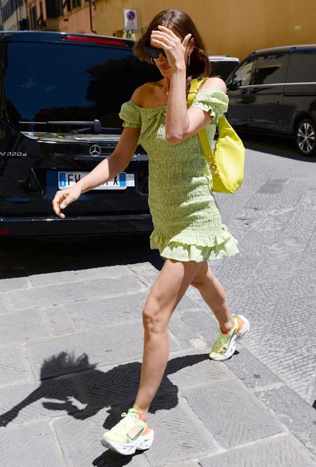 Ирина Шейк во Флоренции