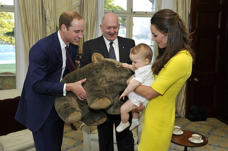 Фото №6 - Сегодня принц Джордж отмечает свой первый день рождения