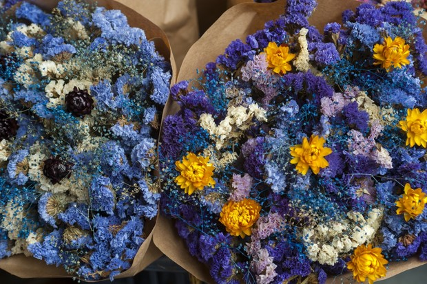 цветы бессмертники как засушить