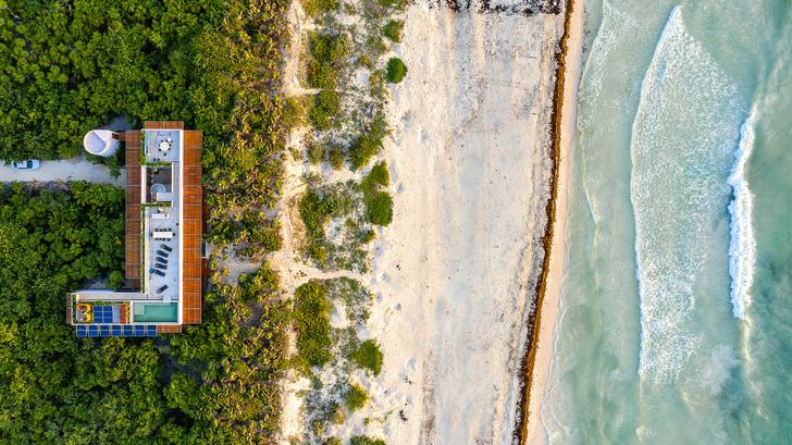 Фото №9 - Бетонный дом на побережье Карибского моря в Тулуме