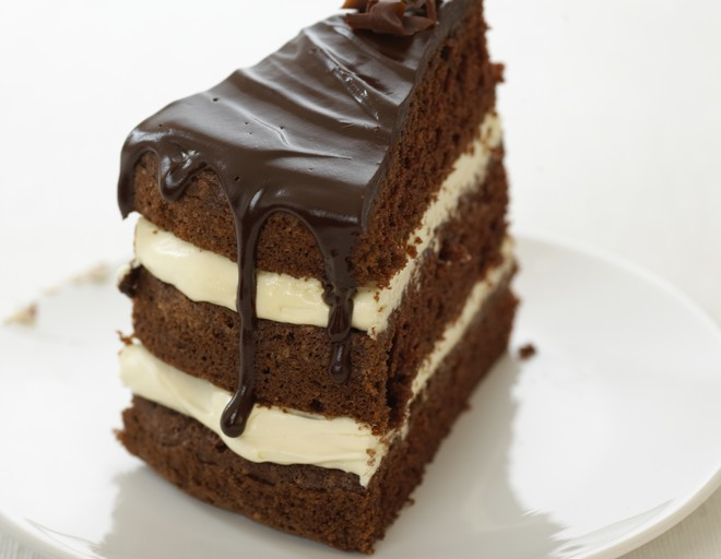 Торт негр в печи