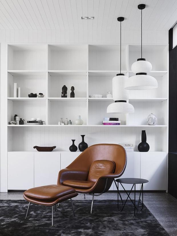 Фото №8 - Стеллаж в гостиной: лучшие идеи и решения
