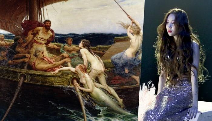 Фото №2 - Глубокомысленный k-pop: 10 случаев, когда айдолы заимствовали образы из мифов Древней Греции