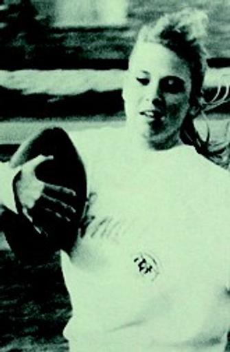 Первый успех...в американском футболе: Рене-лучший игрок школы.
