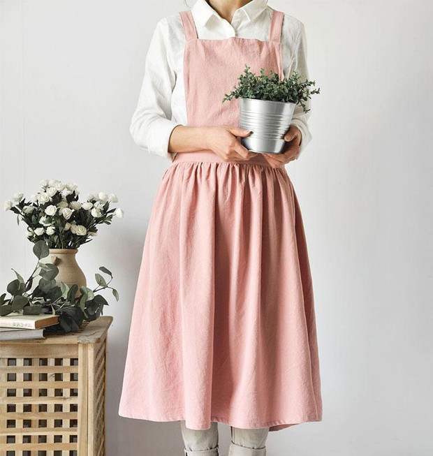 Фото №20 - Модные фартуки и текстиль для кухни