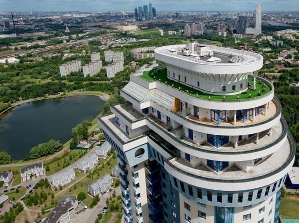 Фото №14 - Жизнь в облаках: 10 самых высоких зданий в Москве, в которых можно жить