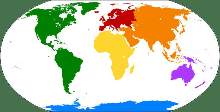 Фото №1 - Какая часть света омывается морями всех океанов?