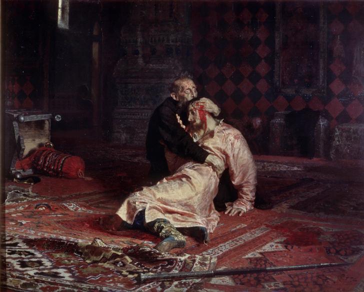 Фото №1 - Культурный код: 9 секретов картины «Иван Грозный и сын его Иван...» Ильи Репина