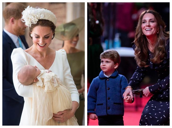 Фото №1 - Мамина копия: самые трогательные совместные фото герцогини Кейт и принца Луи